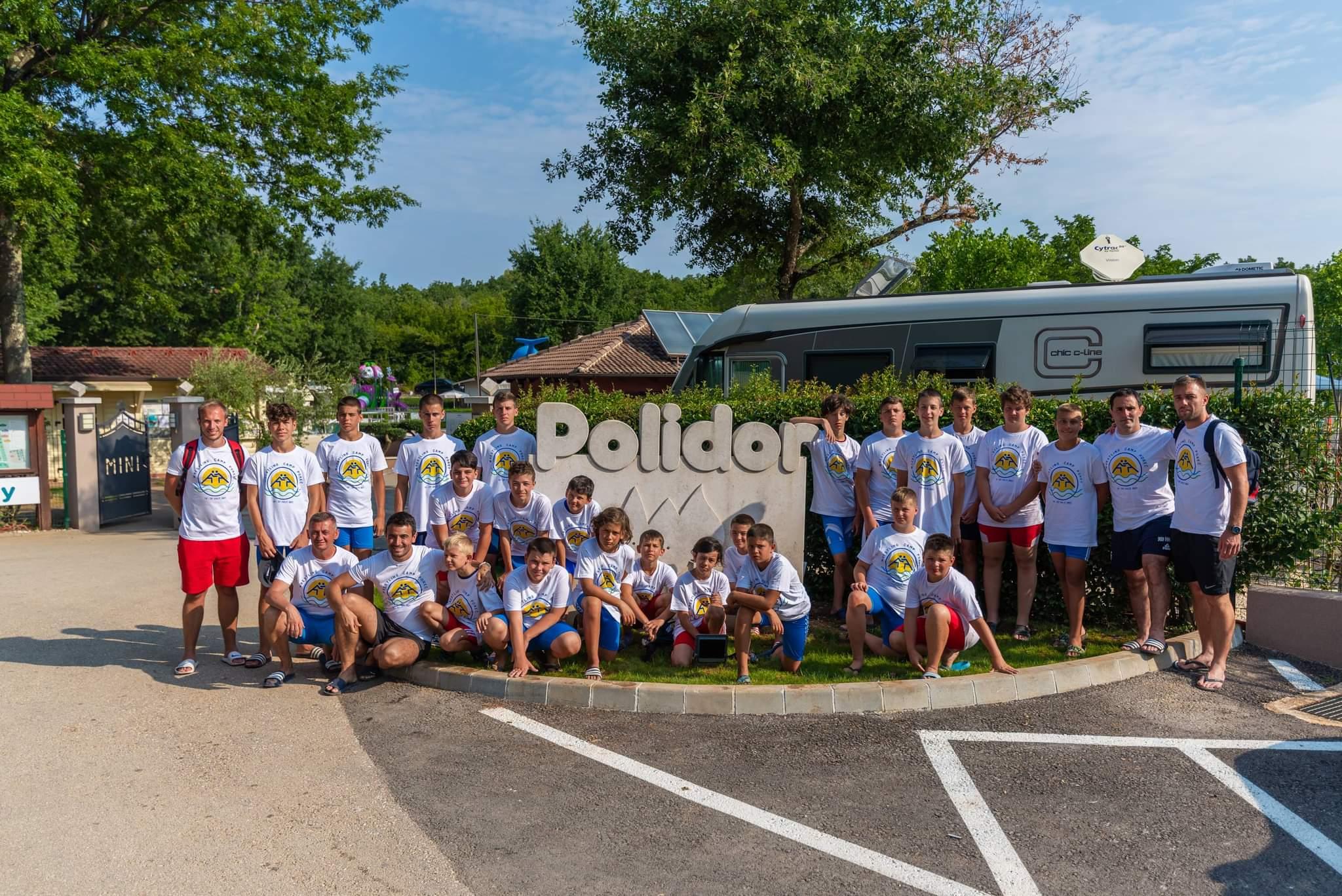Sportska Hrvatska Hrvacki klub Porec organizirao 1. hrvacki ljetni kamp u kampu Polidor u Funtani