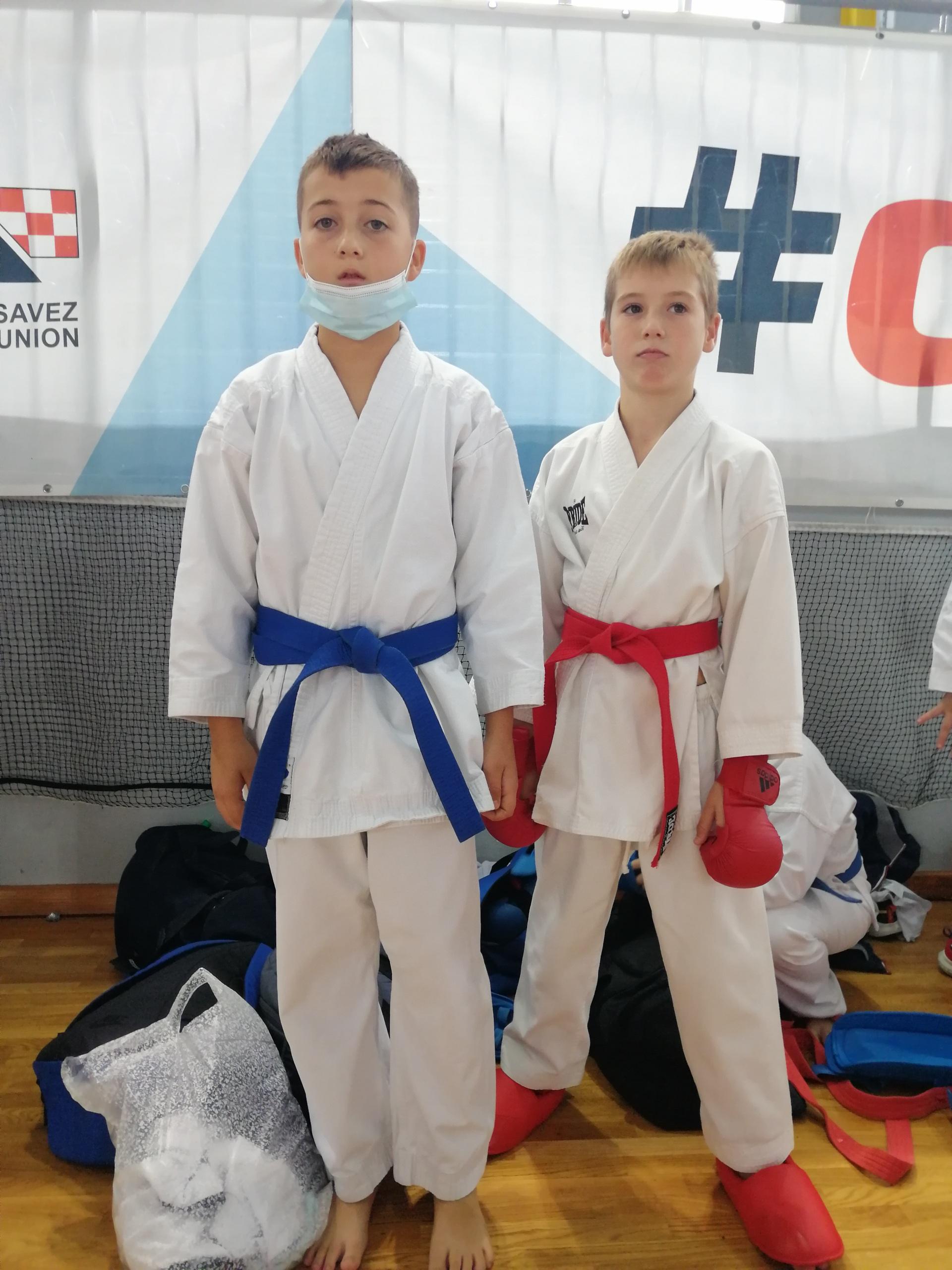 Sportska Hrvatska Dvije bronce za Karate klub Finida na Prvenstvu Hrvatske